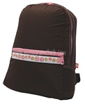 Small Chocolate Blooms Backpack
