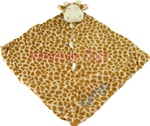 Brown Giraffe Little Lovie Security Blanket
