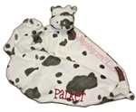 Cow Little Lovie Security Blanket