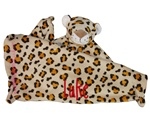 Leopard Little Lovie Security Blanket