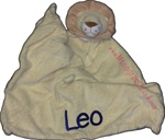 Lion Lovie Security Blanket