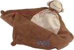 Monkey Little Lovie Security Blanket