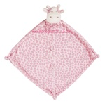 Pink Giraffe Little Lovie Security Blanket
