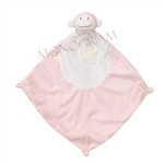 Pink Monkey Security Blanket