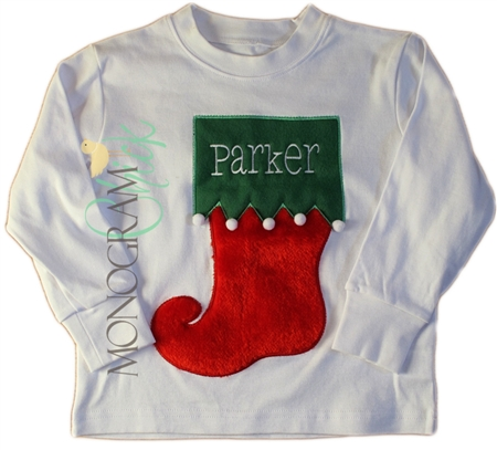 Christmas Stocking Shirt for Boys & Girls
