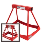 "Allstar 10254 Stack Stands 14"" Steel Red"