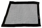"Allstar 10299 Angled Mesh Window Net Black 22"" X 27"" X 18"" Non-SFI Rated"