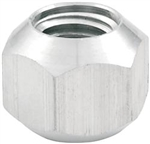 "Allstar 44096 : Lug Nuts, 5/8""-11 RH Thread, Aluminum, Double Chamfer, Set of 10"
