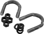 Allstar 69016 U-Bolt Kit For 1350 U-Joint