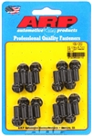 "ARP 100-1202 : Header Bolts, 12-Point, 3/8"" Wrench, Chromoly, 3/8""-16, .750"" UHL, Set of 16"