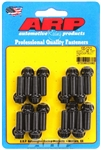 "ARP 100-1212 : Header Bolts, 12-Point, 3/8"" Wrench, Chromoly, 3/8""-16, 1.00"" UHL, Set of 16"