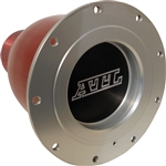 "ATL Fuel Cells RE182 : Quick Fill Spout Receptacle, Refueling, Female, Aluminum, Natural, 2.250"" I.D"