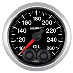 "Auto Meter 5638 2-1/16"" Oil Temp, 100- 260`F, Elite"