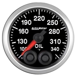 "Auto Meter 5640 2-1/16"" Oil Temp, 100- 340`F, Elite"