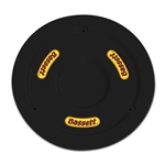 "Bassett 5PLG-BLK : Mud Plug, Fits 15"" Wheels, Plastic, Black"