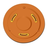 "Bassett 5PLG-FLOORG : Mud Plug, Fits 15"" Wheels, Plastic, Fluorescent Orange"