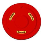 "Bassett 5PLG-FLORED : Mud Plug, Fits 15"" Wheels, Plastic, Fluorescent Red"