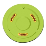 "Bassett 5PLG-FLOYEL : Mud Plug, Fits 15"" Wheels, Plastic, Fluorescent Yellow"