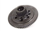 Bert Transmission 320-NC : Flywheel, Steel, HTD Pulley, SBC, Internal Balance
