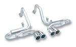Borla 140038 : Chevy 5.7L LS Exhaust System, Cat-Back, Stainless Steel