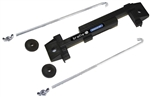 "Braille 6188 : Battery Mount Kit, (1) Plastic Hold Down, (2) 8"" Steel J-Bolts, (2) Nuts"