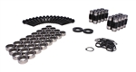 Comp Cams 13702-KIT : Rocker Arm Trunnion Upgrade Kit, GM, Gen. 3/4 LS Cathedral or Rectangle Port Rockers, Set of 16