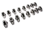 "Comp Cams 17001-16 : Rocker Arms, High Energy Diecast, Stud Mount, Full Roller, Aluminum, 1.50 Ratio, 3/8"" Stud, SBC, Set of 16"