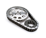 Comp Cams 7100 : Timing Chain & Gear Set, Keyway Adjustable, Double Roller, SBC