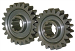 Coleman 207-24 : Quick Change Gear Set, Lightened, 10-Spline, Set 24, 20/29 Teeth