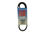 Dayco 15345 Top Cog V-Belt 34.5 Inches Long x 0.44 Wide