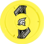 "Dirt Defender 10080 : 15"" Wheel Cover, ABS Plastic, Fluorescent Yellow"