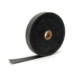 "DEI 010107 : Exhaust & Header Wrap, Fiberglass Composite, Black, 1"" Wide, 50' Length"