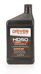 Driven 02706 : Motor Oil, HD50, Powersports, 4-Stroke, Synthetic, 15w50, 1 Quart