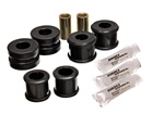 Energy Suspension 4.5191G : Bushings, Rear Sway Bar, Polyurethane, Black, 20mm Diameter, Ford