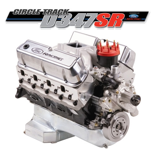 Ford Racing M 6007 D347sr Sealed Circle Track Crate Engine