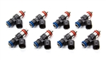 FAST 30657-8 : Fuel Injectors, 65 lbs./hr., High Impedance, 12V, Saturated Circuit, Universal, Set of 8