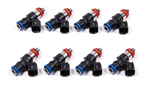 FAST 30857-8 : Fuel Injectors, 85 lbs./hr., High Impedance, 12V, Saturated Circuit, Universal, Set of 8
