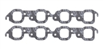 Mr. Gasket 5910 : Exhaust Gaskets, Ultra-Seal, Square Port, BBC, Pair