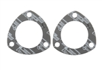 "Mr. Gasket 5980 : Collector Gaskets, Ultra-Seal, 3-Hole, 2.500"" Inside Diameter, Pair"