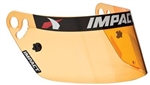 Impact 11499904 : Helmet Shield, Anti-Fog, Hi-Def Amber, Mini-Champ