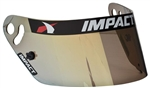 Impact 19300905 : Helmet Shield, Yellow Chrome