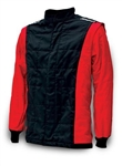 Impact 22515407 : Driving Jacket, The Racer, Black/Red, Medium, SFI 3.2A/5