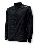Impact 22515510 : Driving Jacket, The Racer, Solid Black, Large, SFI 3.2A/5