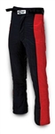 Impact 23315407 : Driving Pants, The Racer, Black/Red, Medium, SFI 3.2A/5