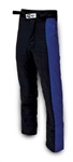 Impact 23315606 : Driving Pants, The Racer, Black/Blue, X-Large, SFI 3.2A/5