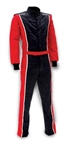 Impact 24215607 : Driving Suit, The Racer, Black/Red, X-Large, SFI 3.2A/5