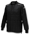 Impact 29300510 : Driving Jacket, Team Drag, Solid Black, Large, SFI 3.2A/15