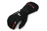 Impact 37500410 : Driving Gloves, Redline, Black, Medium, SFI 3.3/20