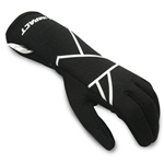 Impact 38500610 : Driving Gloves, Mini-Axis, Black, Youth X-Large, SFI 3.3/5