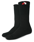 Impact 79999410 : Fire-Retardant Socks, Black, Medium, SFI 3.3